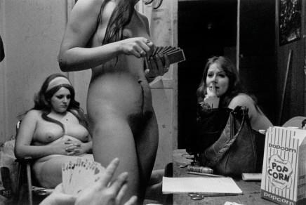 Susan Meiselas, The Dressing Room, Fryeburg, Maine, 1975