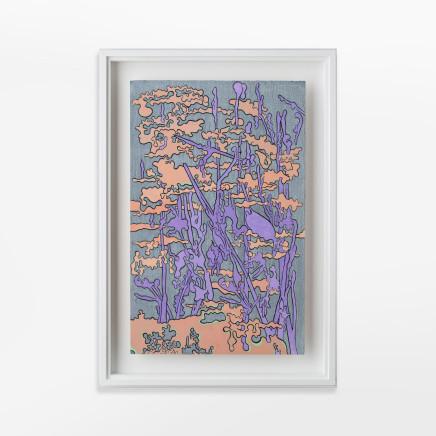 Fiona Van Oyen, Purple skyscape, 2019