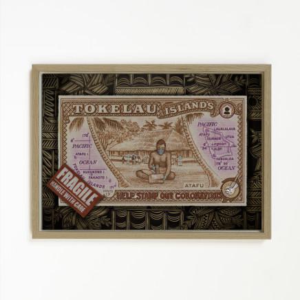 Michel Tuffery, Help stamp out Covid Porirua, Tokelau, 2021