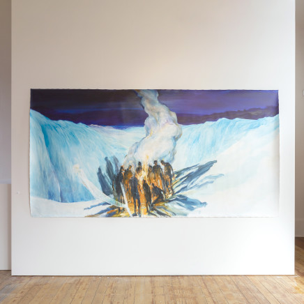 John Walsh, Fire and Ice (Collaboration with Euan Macleod), 2016