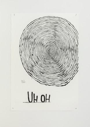 Martin Poppelwell, Concentration Rings, Uh oh, Oh dear - He pokarekare / U te pihapiha aue aue aue, 2016