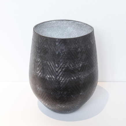 Mark Mitchell, Miniature Series (Black Chevron), 2021