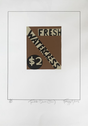 Dick Frizzell, Trickle Down (Tan), 2003