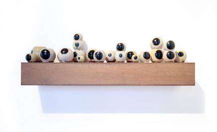 Martin Poppelwell, Eyeball display, 2018
