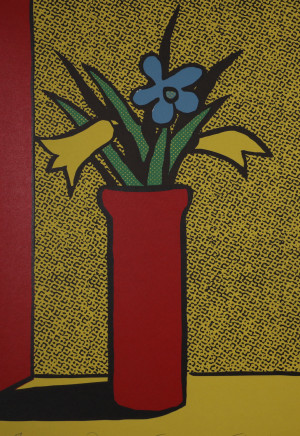 Dick Frizzell, Phantom Flowers, 2004