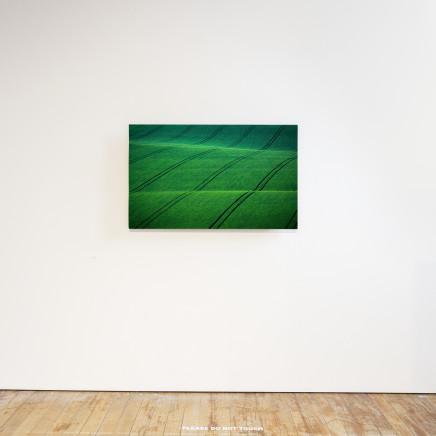 Elizabeth Thomson, Green Sees Things in Waves, 2018