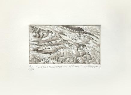 Michel Tuffery, Mata Landscape on Arrival , 2012