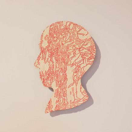 Fiona Van Oyen, Landscape Cameo (Head), 2020
