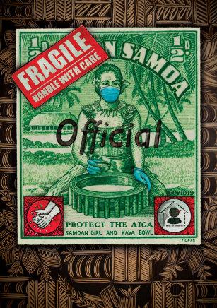Michel Tuffery, Protect our Aiga, Samoa, 2020