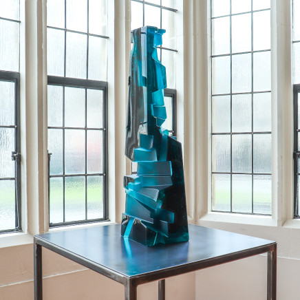 Emma Camden, Pillar (Jade and Pale Jade), 2020