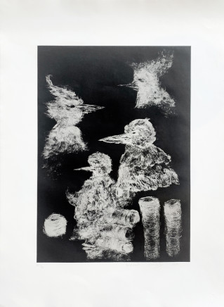 John Pule, Bird Heads, 2011