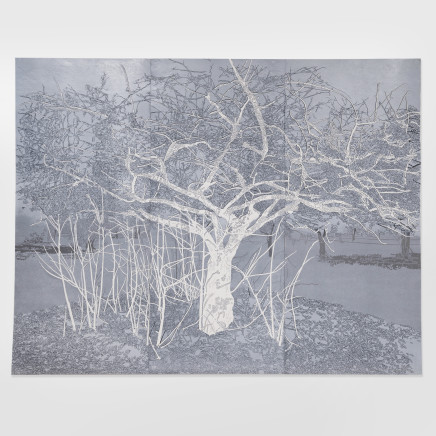 Fiona Van Oyen, The anthropomorphic garden (silver), 2017/18