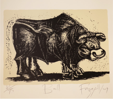 Dick Frizzell, Bull, 2007