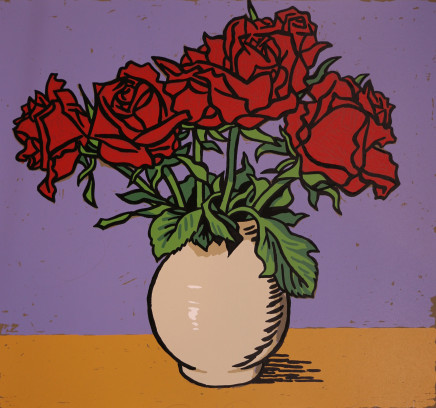 Dick Frizzell, Red Roses, 2012