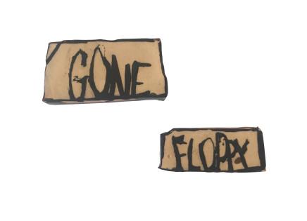 Martin Poppelwell, Gone Floppy, 2018