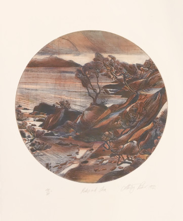 Stanley Palmer, Rocks and Sea, 1972