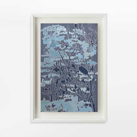 Fiona Van Oyen, Blue skyscape, 2019