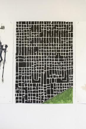 Martin Poppelwell, Grid Work - He Tukutuku i Mata, 2016