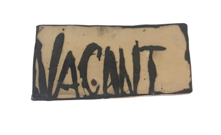 Martin Poppelwell, Vacant, 2018