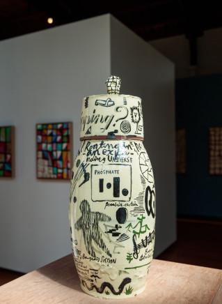 Martin Poppelwell, Russian Ham (Jar), 2018