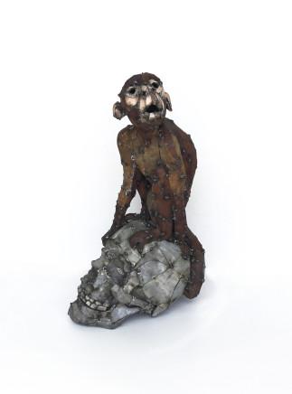 Hannah Kidd, Monkey on Skull, 2017