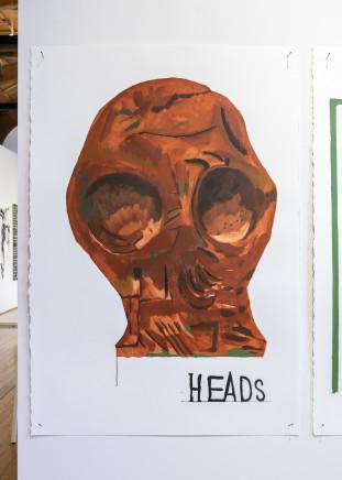 Martin Poppelwell, Heads, Versions - Te Mātenga, He Tauira, 2016