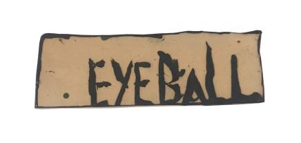 Martin Poppelwell, Eyeball, 2018