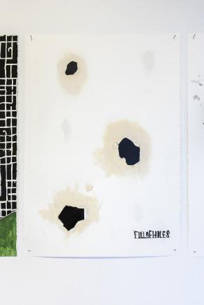 Martin Poppelwell, Full of Holes - He Putaputa, 2016