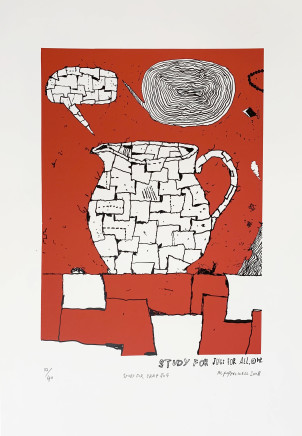 Martin Poppelwell, Study For Crap Jug, 2008