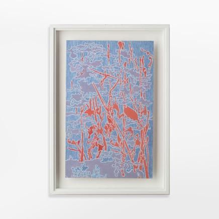 Fiona Van Oyen, Orange skyscape, 2019