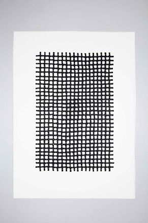 Veronica Herber, 522x4=2088 Black Grid Fine, 2015