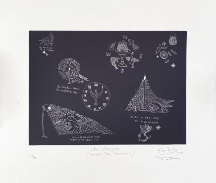 John Pule, Star Navigator (Towards the Kermadecs), 2011