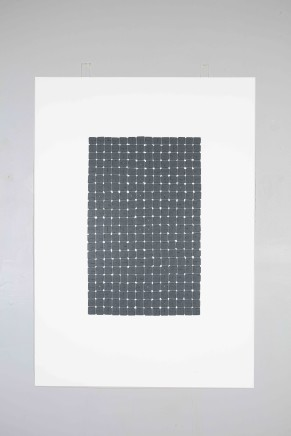 Veronica Herber, 308x4=1232 Grey Grid Intense, 2015