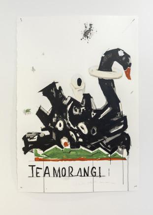 Martin Poppelwell, Satellite - Te Amorangi, Swan + Eyeball - Te Wani e he Pūkana, 2016