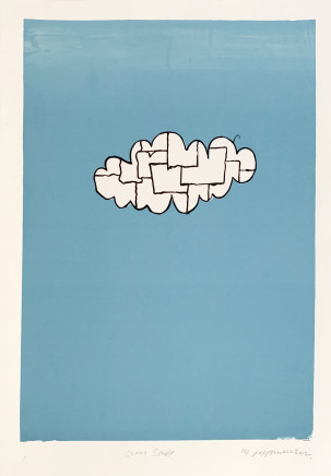 Martin Poppelwell, Rain Cloud Study, 2012