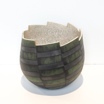 Mark Mitchell, Miniature Series (Green Black), 2021