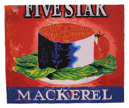 Dick Frizzell, Five Star, 2015