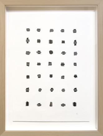 Veronica Herber, Fragment black/grey Med, 2019