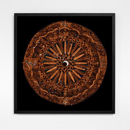 Michel Tuffery, Star Compass for Matariki, 2021