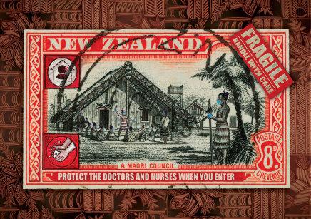 Michel Tuffery, Protect the Doctors and Nurses, Aotearoa, 2020
