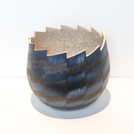 Mark Mitchell, Miniature Series (Blue Black), 2021