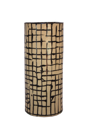 Martin Poppelwell, Grid (Cylinder), 2018