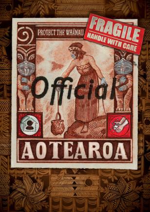 Michel Tuffery, Protect the Whānau, Aotearoa, 2020