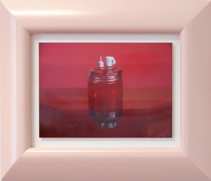 Emily Hartley-Skudder, Red Display with Mug and Polish, 2017