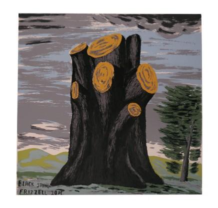 Dick Frizzell, Black Stump, 2015