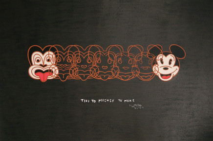 Dick Frizzell, Tiki To Mickey Tu Meke, 2012