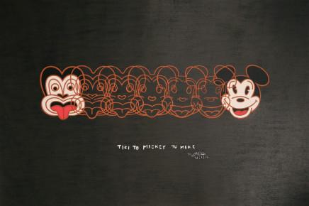 Dick Frizzell, Mickey to Tiki, 2012