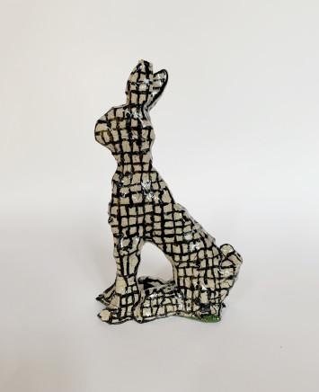 Martin Poppelwell, Grid (Rabbit), 2017