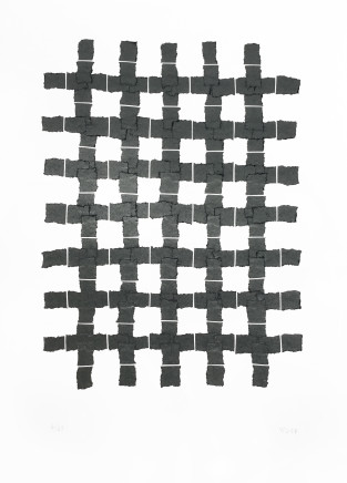 Veronica Herber, 7x5 Medium Grid Grey, 2017
