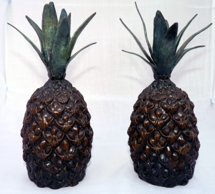 Robert Humphreys - PAIR OF PINEAPPLES